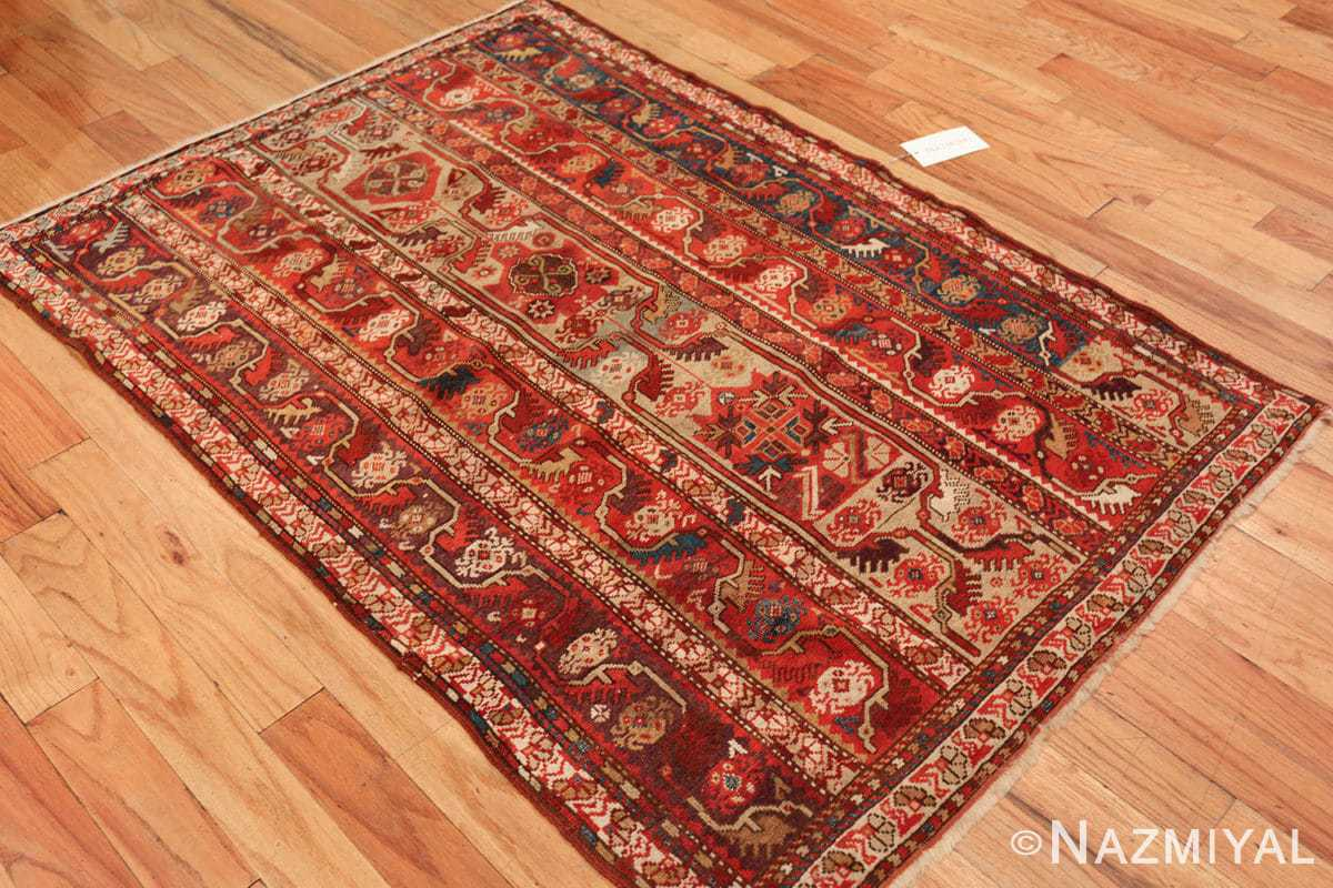 tribal antique turkish melas rug 49706 side Nazmiyal