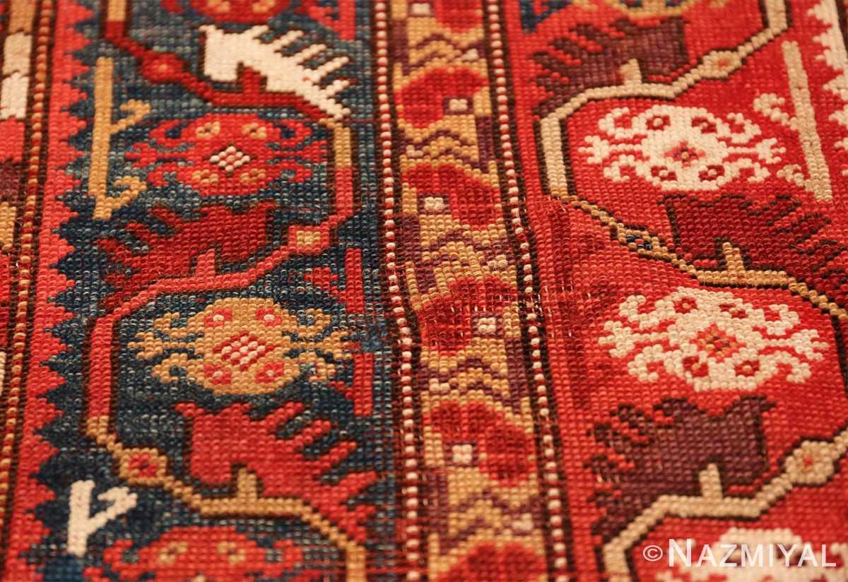 tribal antique turkish melas rug 49706 spiders Nazmiyal