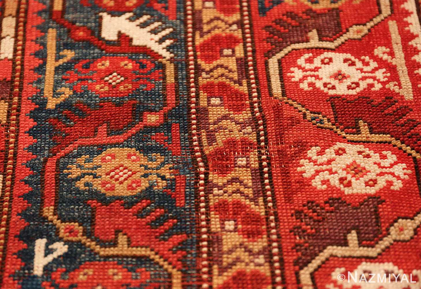 tribal antique turkish melas rug 49706 spiders Nazmiyal