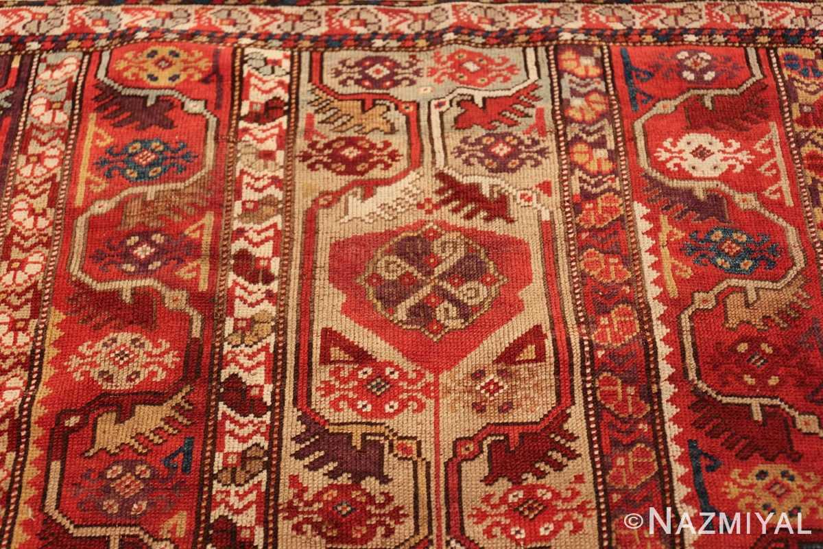 tribal antique turkish melas rug 49706 top Nazmiyal