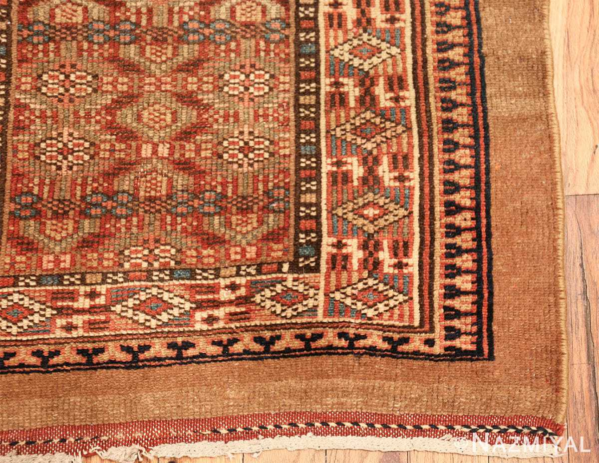 tribal long and narrow antique persian serab runner rug 49720 corner Nazmiyal