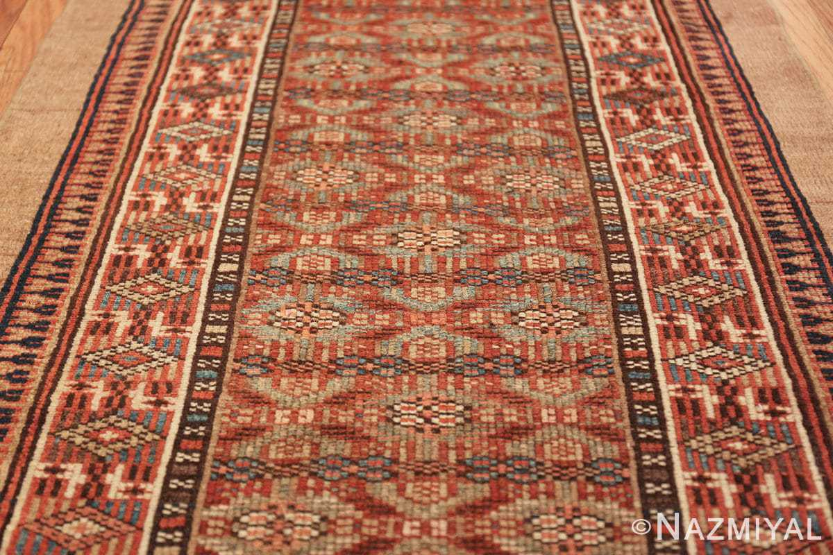 tribal long and narrow antique persian serab runner rug 49720 field Nazmiyal