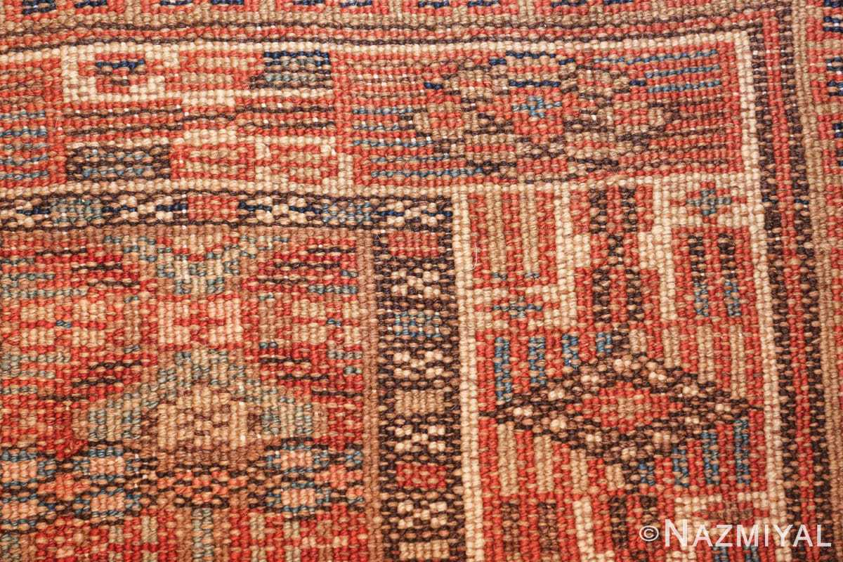 tribal long and narrow antique persian serab runner rug 49720 knots Nazmiyal