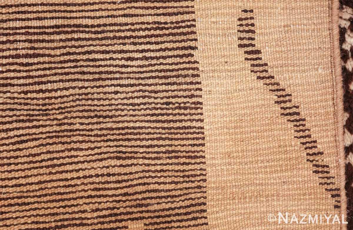 vintage geometric moroccan runner rug 49728 knots Nazmiyal