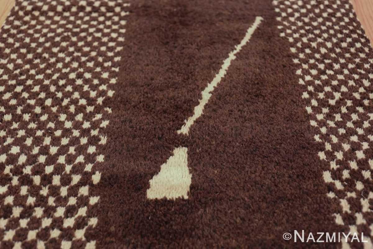 vintage geometric moroccan runner rug 49728 middle Nazmiyal