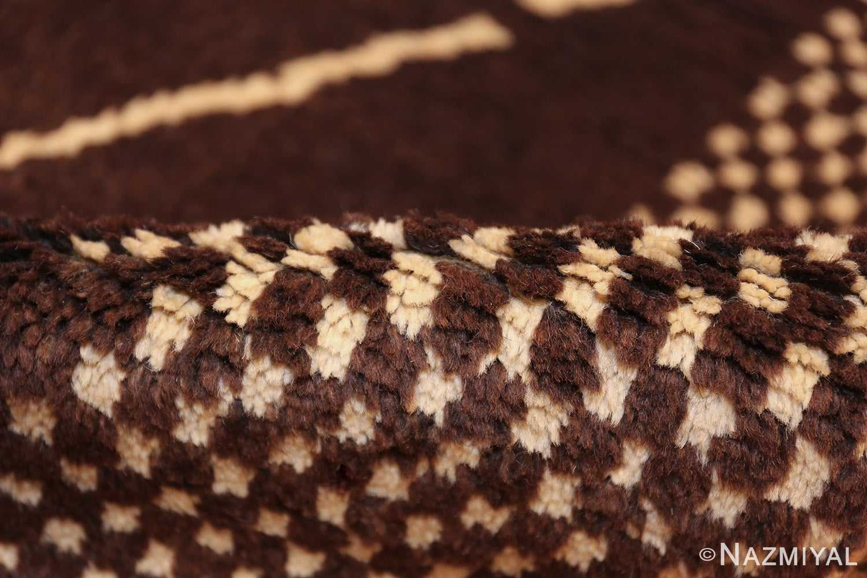 vintage geometric moroccan runner rug 49728 pile Nazmiyal