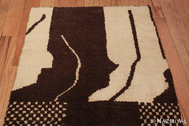 vintage geometric moroccan runner rug 49728 top Nazmiyal
