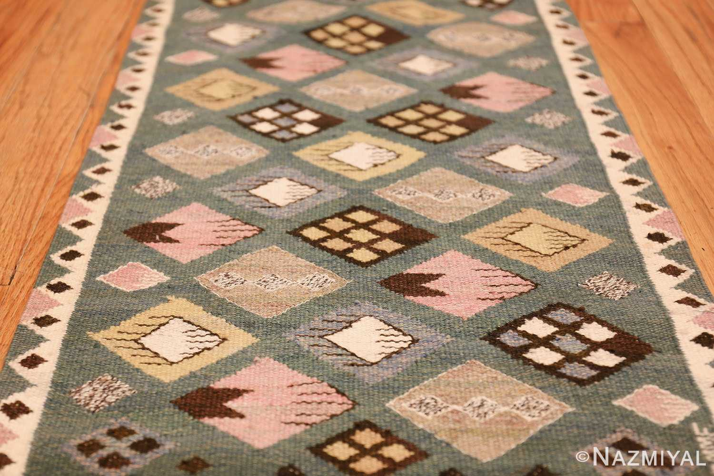 vintage scandinavian swedish kilim by marta mass fjetterstrom 49749 field Nazmiyal