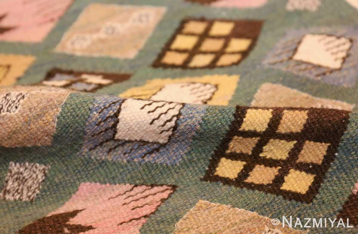 vintage scandinavian swedish kilim by marta mass fjetterstrom 49749 pile Nazmiyal