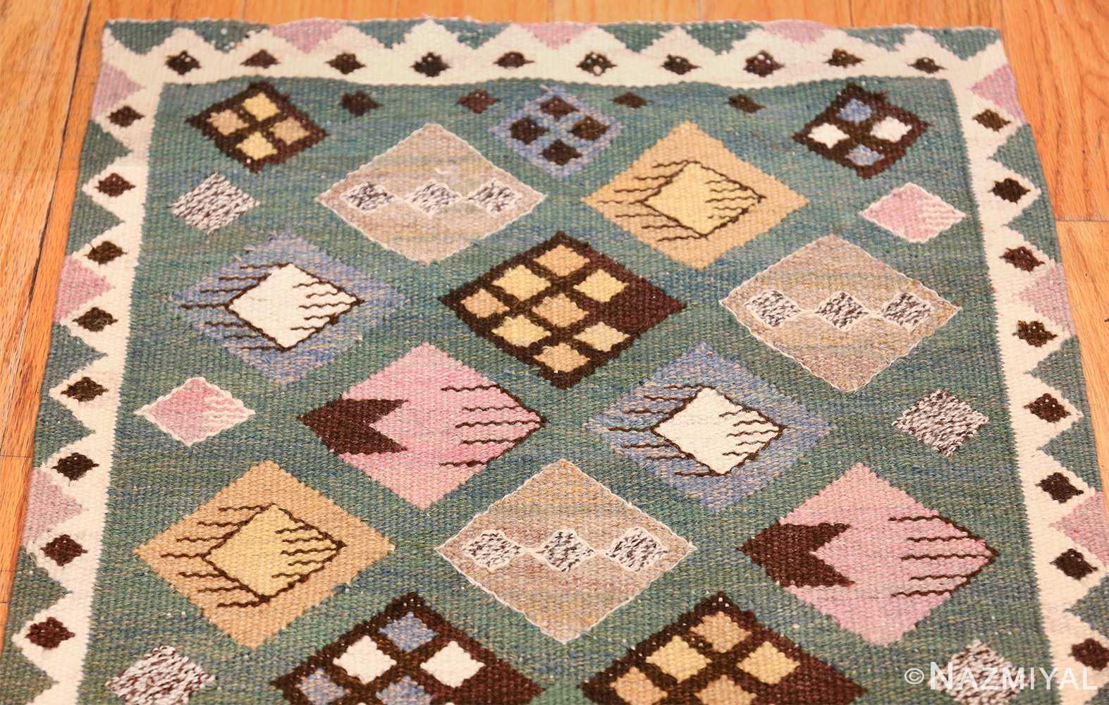 vintage scandinavian swedish kilim by marta mass fjetterstrom 49749 top Nazmiyal