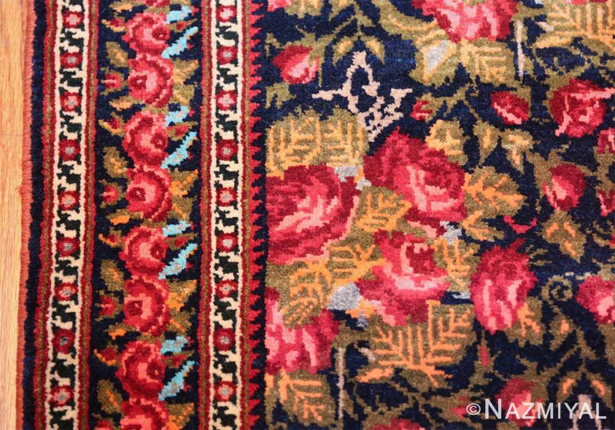 vintage small size persian qashqai rug 49738 border Nazmiyal