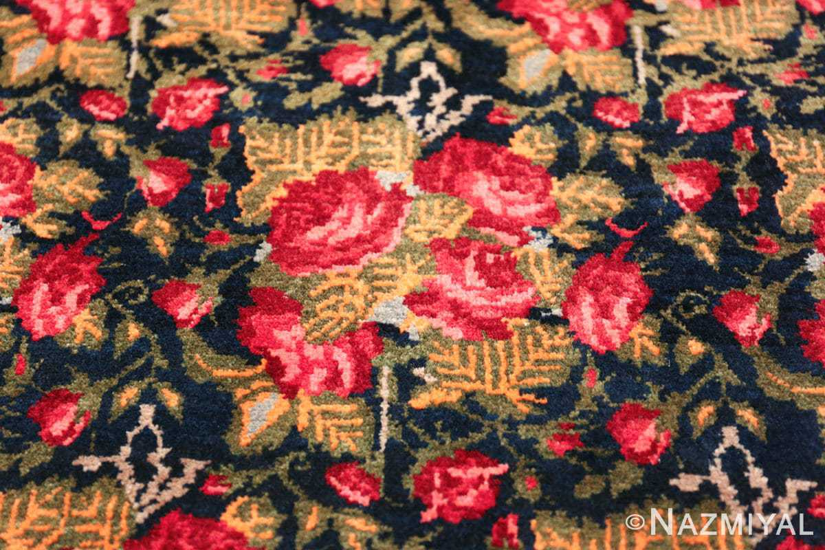vintage small size persian qashqai rug 49738 bunch Nazmiyal