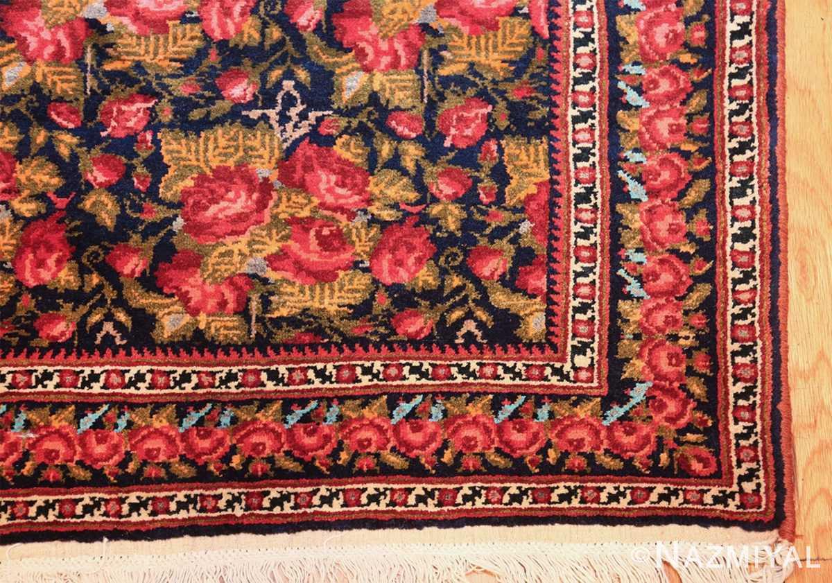 vintage small size persian qashqai rug 49738 corner Nazmiyal