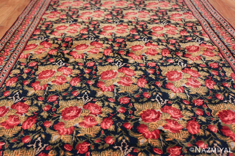 vintage small size persian qashqai rug 49738 field Nazmiyal
