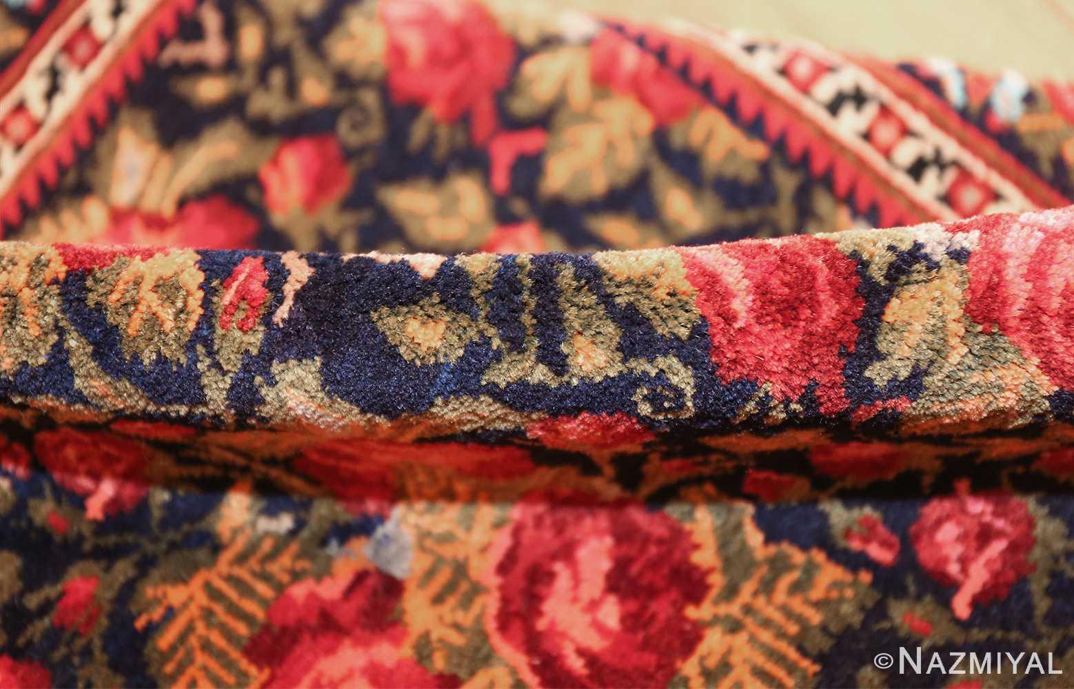 vintage small size persian qashqai rug 49738 pile Nazmiyal