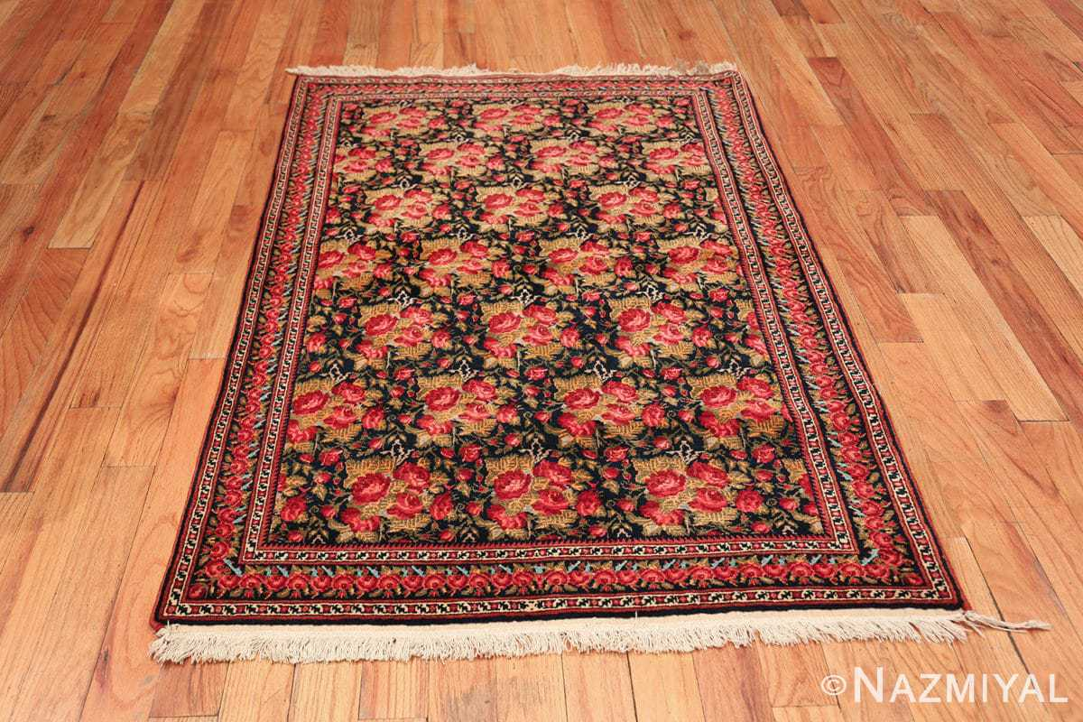 vintage small size persian qashqai rug 49738 whole Nazmiyal