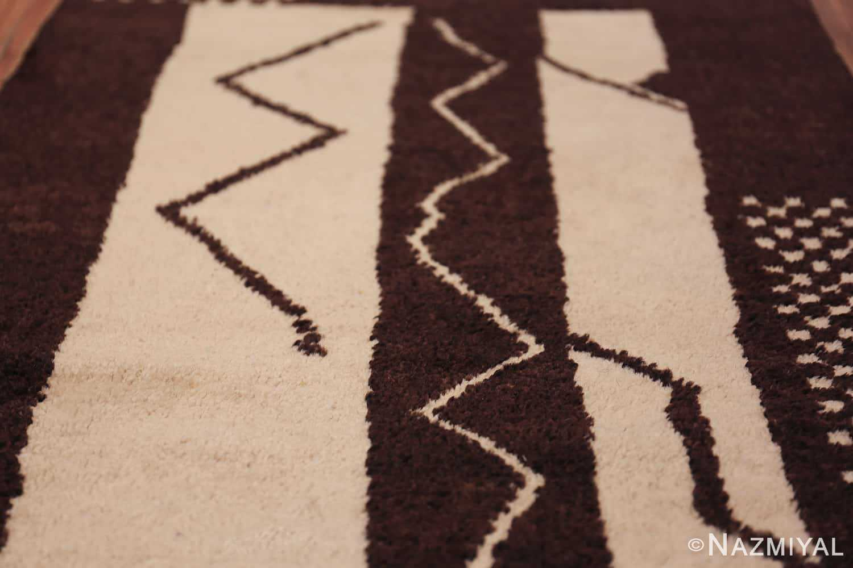 vintage tribal moroccan runner rug 49726 jagged Nazmiyal