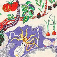 Art Rugs and Artistic Textiles by Artist Josef Frank - Nazmiyal