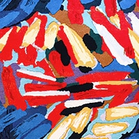 Art Rugs by Artist Karel Appel - Nazmiyal