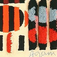 Art Rugs by Artist Yaacov Agam - Nazmiyal