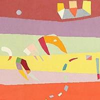 Art Rugs and Tapestries by Bauhaus Artist Wassily Kandinsky - Nazmiyal