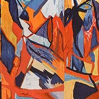 Art Rugs and Tapestries by Artist Georgette Owens - Nazmiyal