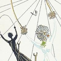 Art Rugs and Tapestries by Artist Salvador Dali - Nazmiyal