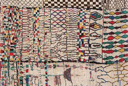 Large Moroccan Rugs - Nazmiyal