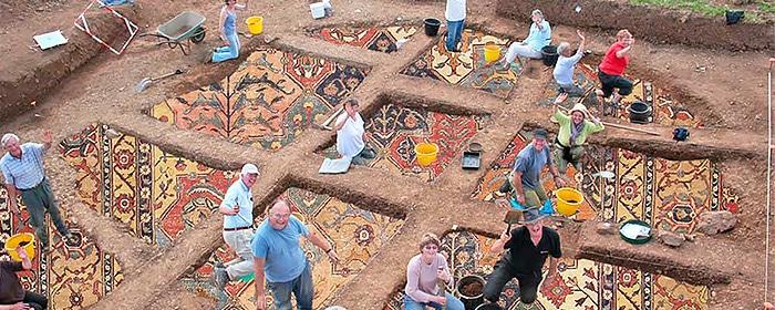History of Antique Oriental Persian Carpets - Nazmiyal