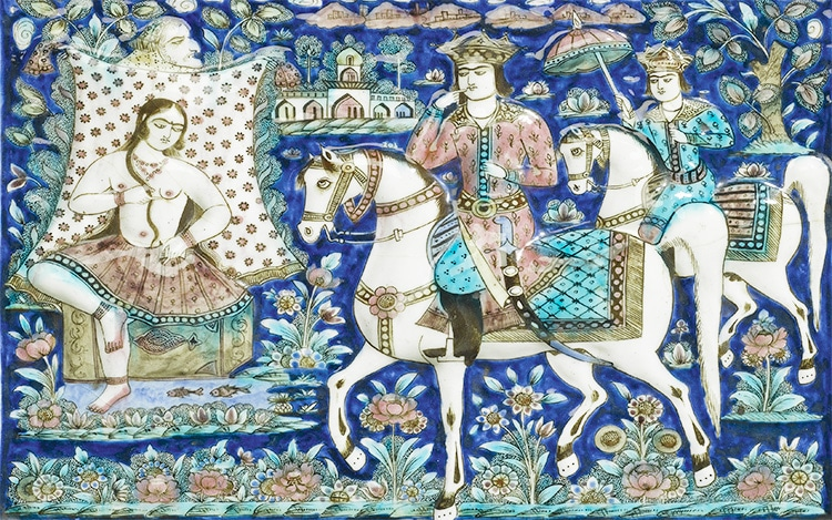 Persian Tragic Love Story Of Shirin and Khosrow - Nazmiyal