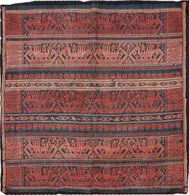 Small Size Antique Tribal African Textile 49780 - Nazmiyal