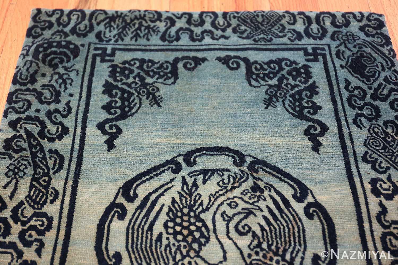 Antique Blue Background Tibetan Rug 49795 top design Nazmiyal