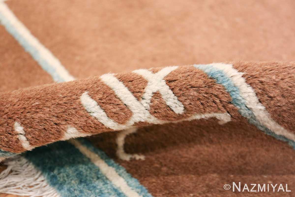 antique chinese rug 49767 pile Nazmiyal
