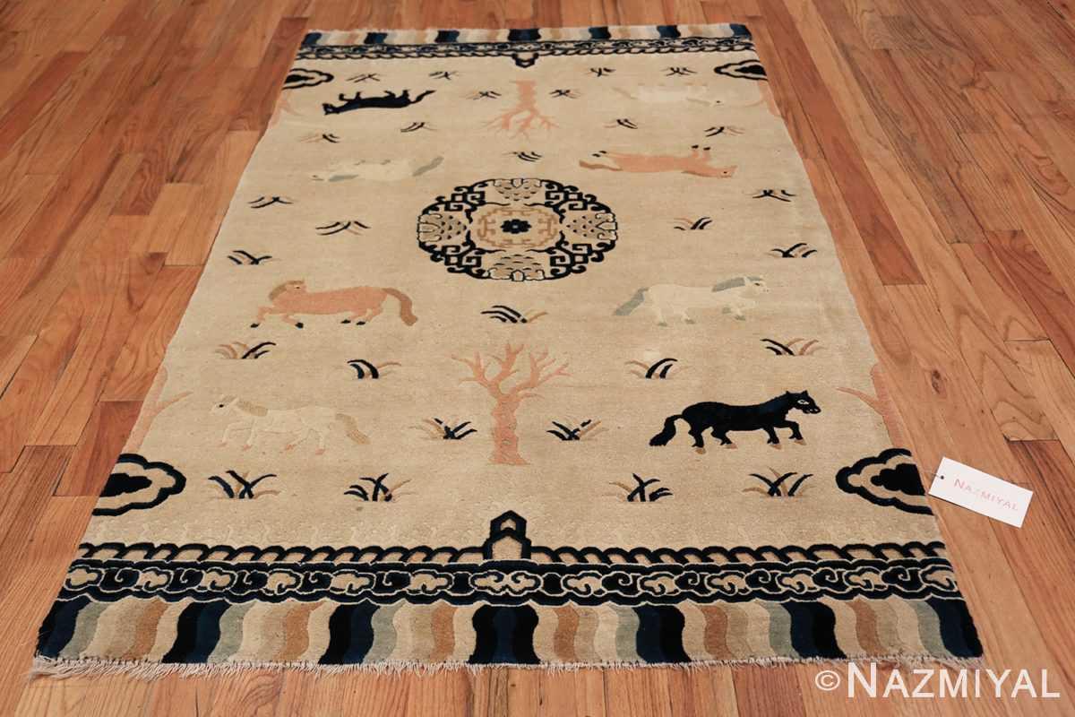 Antique Chinese Rug 49797 whole design Nazmiyal