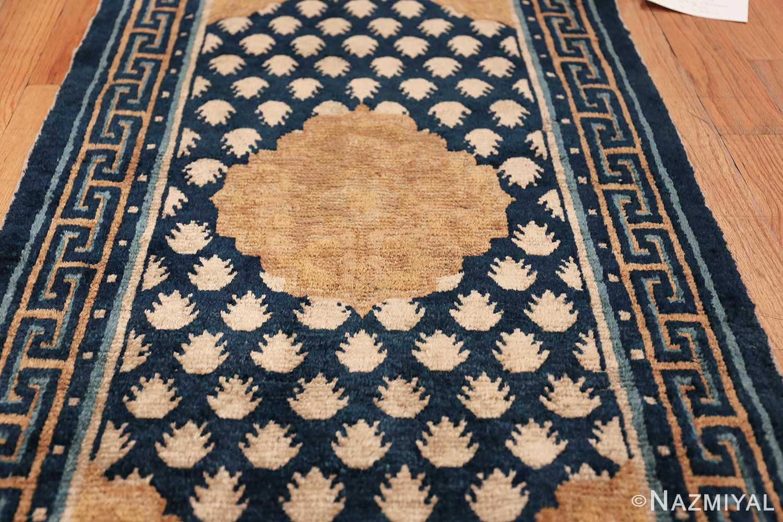 Antique Navy Background Chinese rug 49799 field Nazmiyal