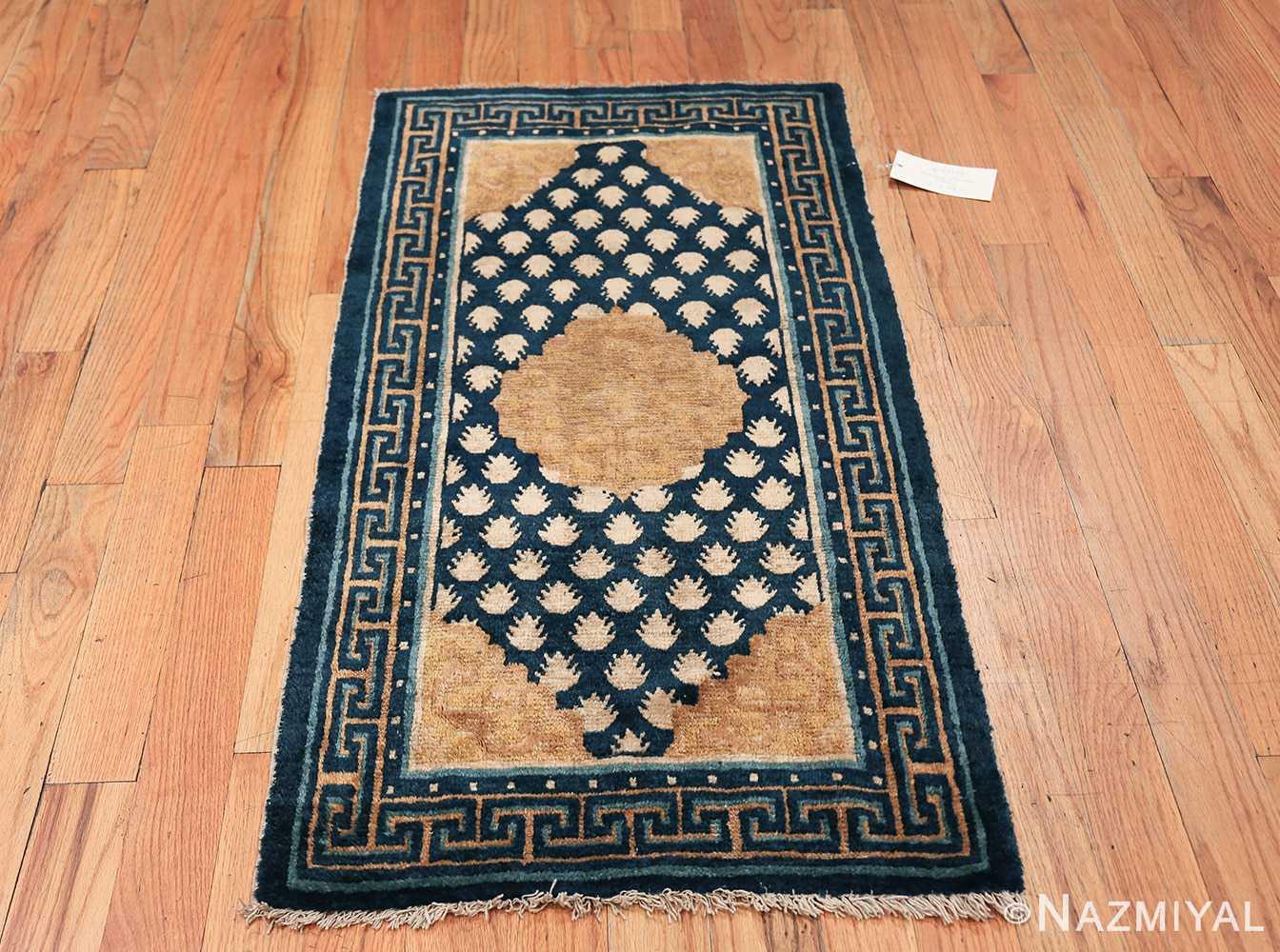 Antique Navy Background Chinese rug 49799 whole Nazmiyal