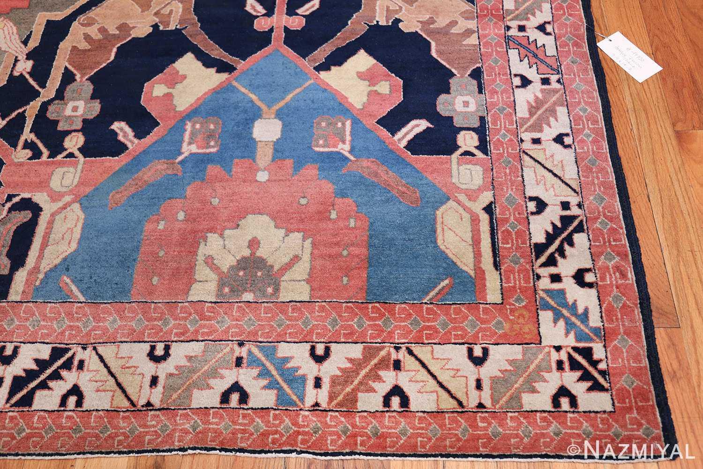 antique petag persian tabriz rug 49750 corner Nazmiyal