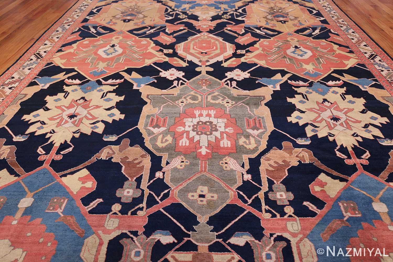 antique petag persian tabriz rug 49750 field Nazmiyal