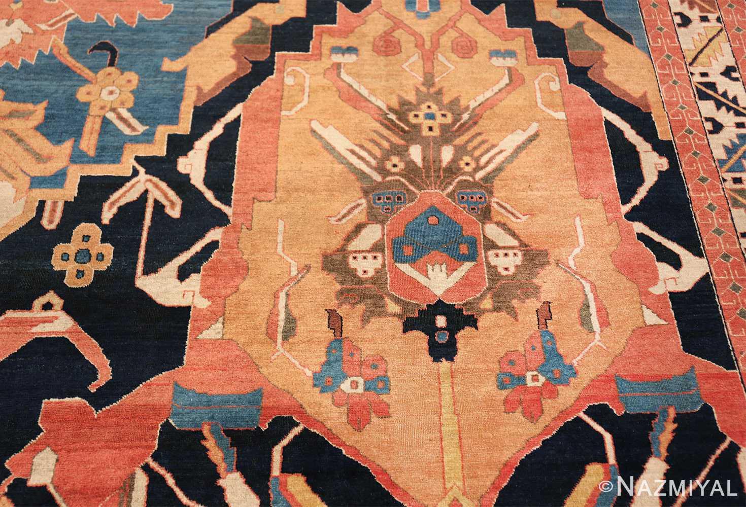 antique petag persian tabriz rug 49750 golden Nazmiyal