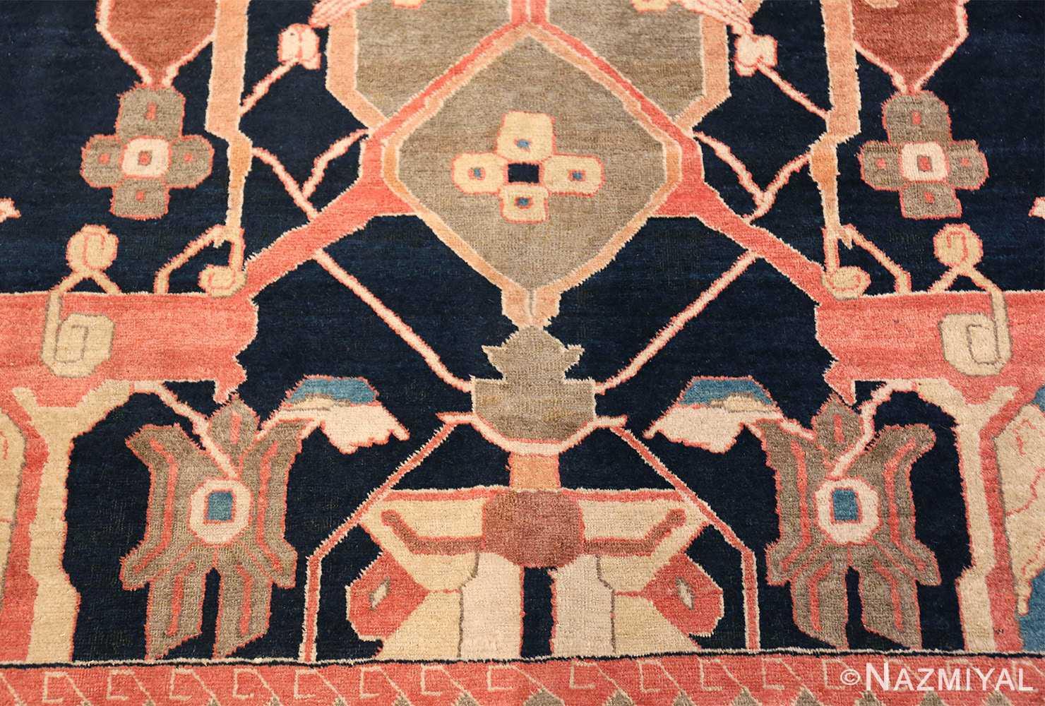 antique petag persian tabriz rug 49750 green Nazmiyal