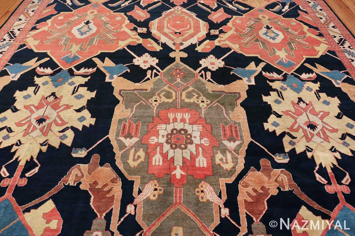 antique petag persian tabriz rug 49750 medallion Nazmiyal