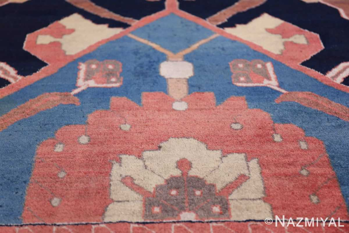 antique petag persian tabriz rug 49750 red Nazmiyal