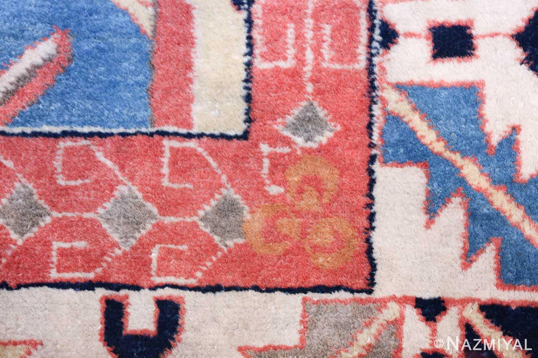 antique petag persian tabriz rug 49750 signature Nazmiyal