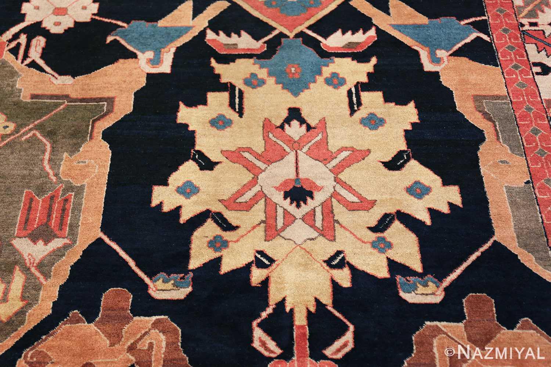 antique petag persian tabriz rug 49750 yellow Nazmiyal