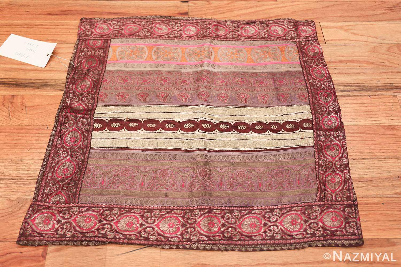 antique silk persian kerman textile 49782 whole Nazmiyal