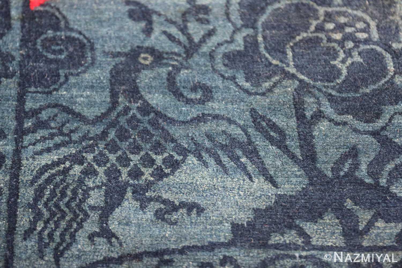 Antique Tiebtan Horse Cover 49794 flying bird Nazmiyal