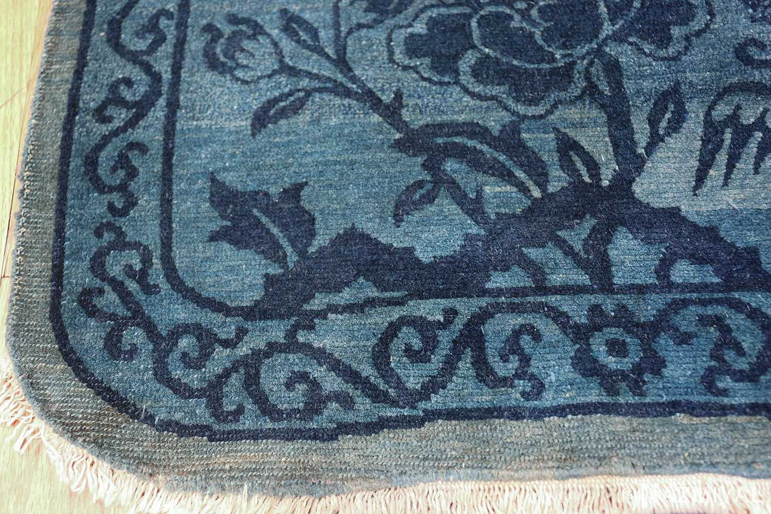 Antique Tiebtan Horse Cover 49794 side curve Nazmiyal