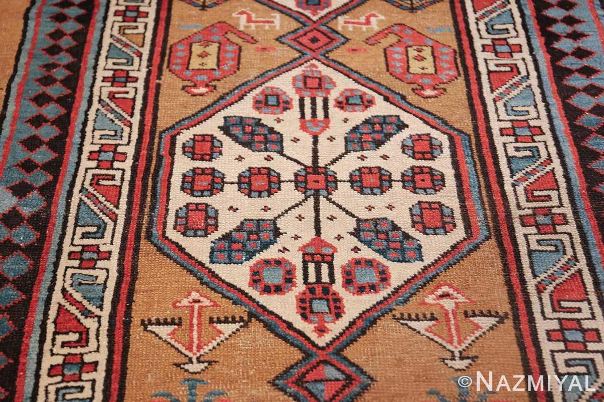 antique tribal persian bakshaish runner rug 49725 design Nazmiyal