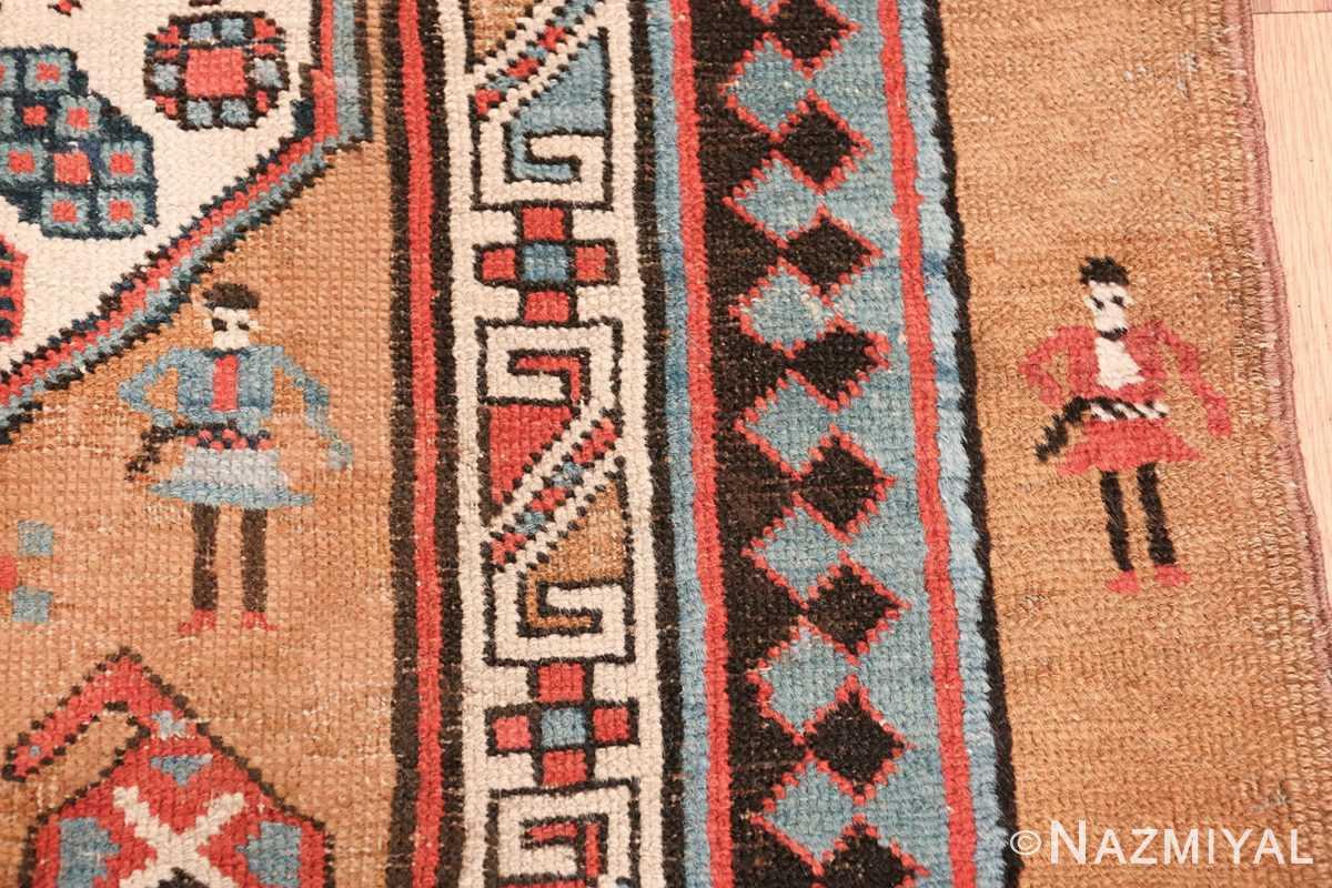 antique tribal persian bakshaish runner rug 49725 guys Nazmiyal