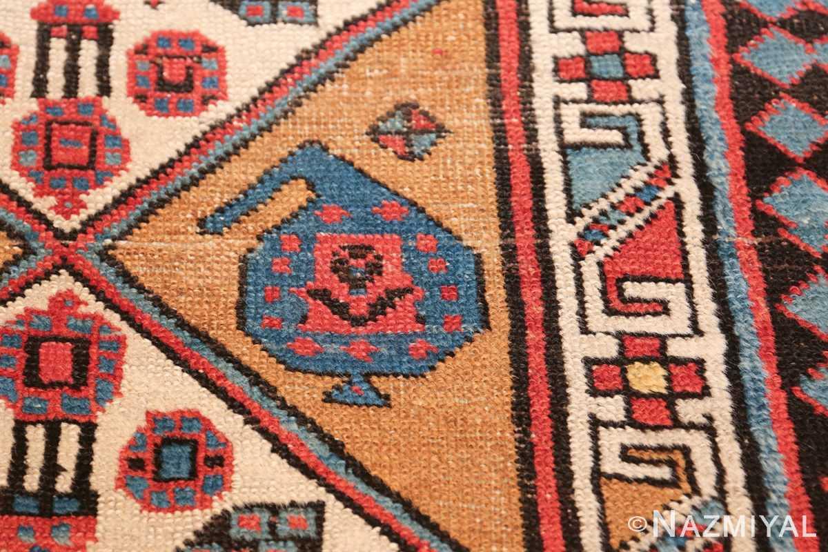 antique tribal persian bakshaish runner rug 49725 shape Nazmiyal